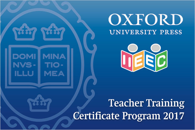 IIEEC - OUP Teacher Training Certificate Program