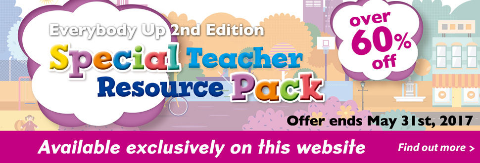 Everybody Up Special Teacher Resource Pack