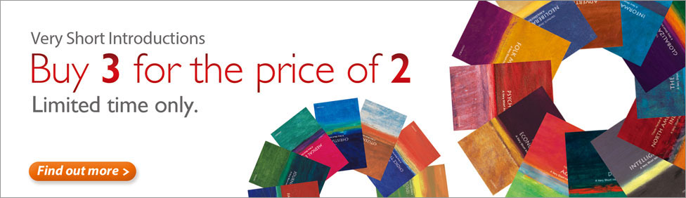 Very Short Introductions: Buy 3 for the price of 2