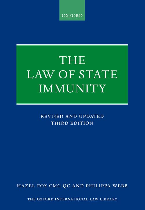 the law of state immunity 3rd edition oxford university press