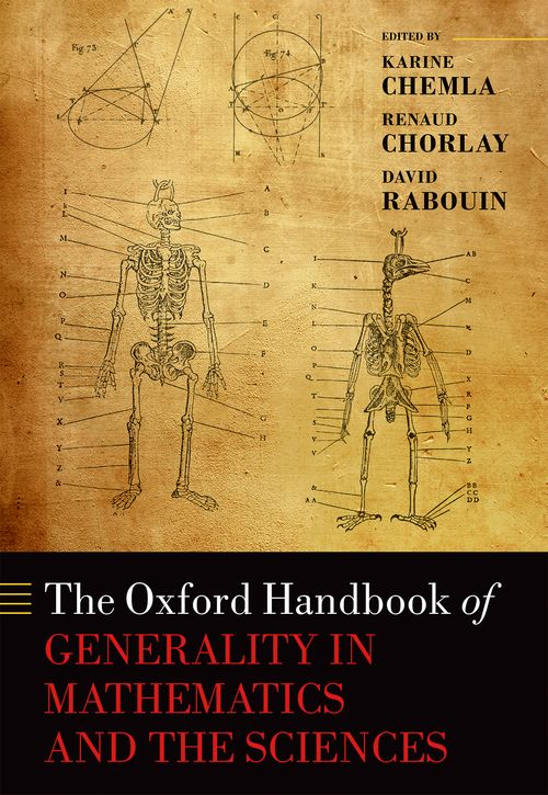 The Oxford Handbook of Generality in Mathematics and the Sciences