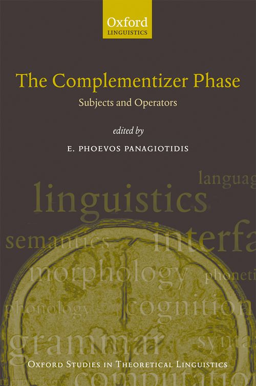 the complementizer phase subjects and operators oxford university