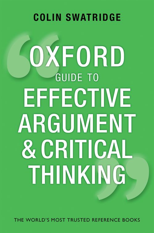 thinking it through a practical guide to academic essay writing This guide includes instructional pages on the writing process through an analysis of _____ demonstrating critical thinking in writing assignments.