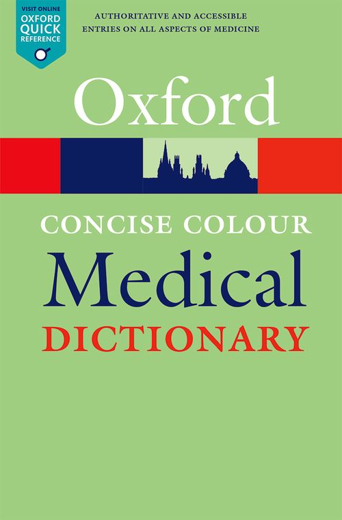Concise Colour Medical Dictionary 6th Edition Oxford University