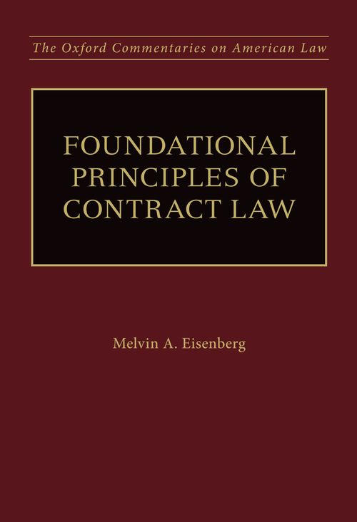 foundational principles of contract law oxford university press
